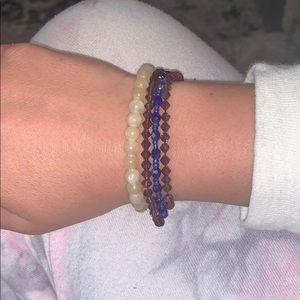 Jewelry - Random beaded bracelets